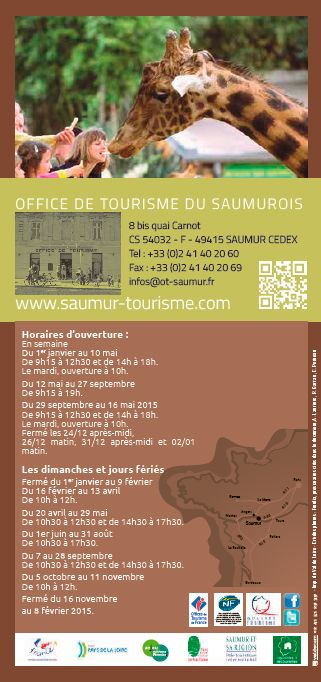 4e de couverture City Pass Grand Saumur