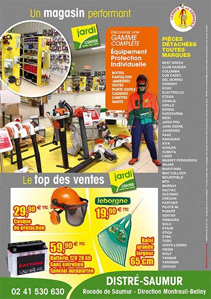4e de couverture catalogue Jardi Cente