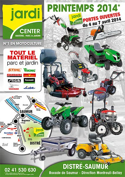 couverture catalogue Jardi Center