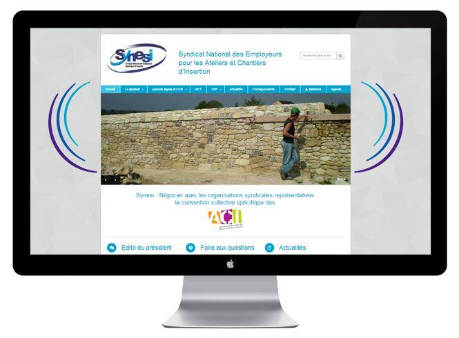site internet Synesi version bureau