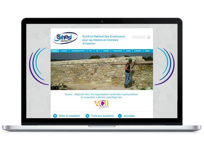 site internet Synesi version portable