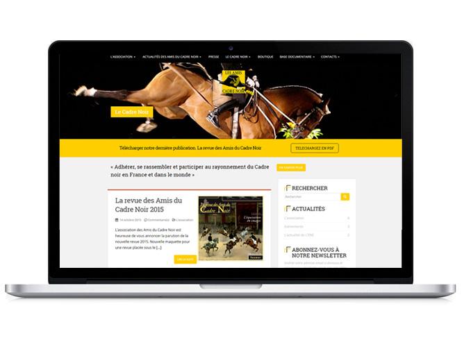 Site internet des Amis du Cadre noir