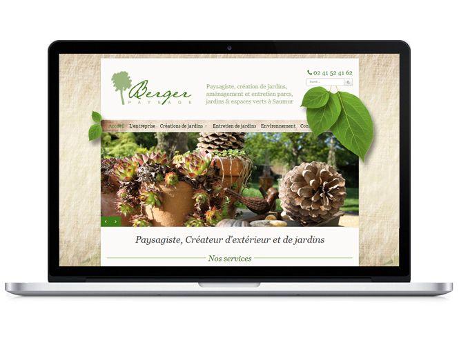 Site Berger Paysage version portable